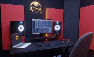 Project visual ATMA STUDIO (studio d'enregistrement nantais)