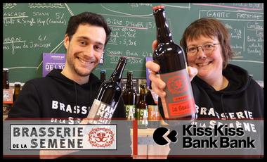 Visuel du projet Un fermenteur, des milliers de bières ! – Brasserie de la Semène