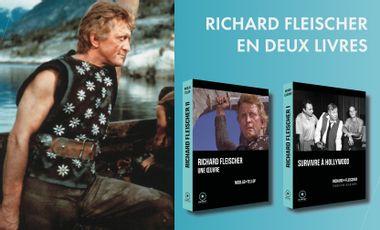 Project visual Le cinéaste culte Richard Fleischer en deux livres