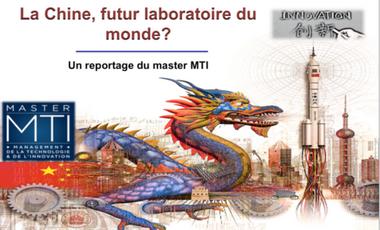 Visuel du projet La chine, futur laboratoire du monde?