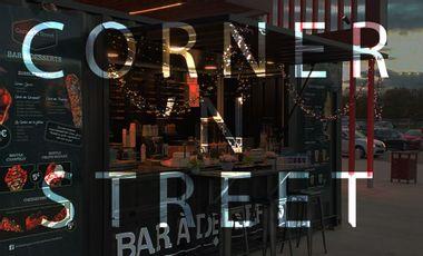 Project visual Corner'N Street, Bar à Dessert