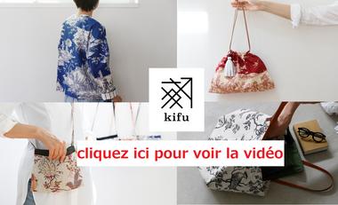 Project visual Tissu japonais x Toile de jouy