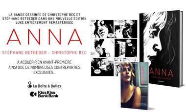 Visueel van project « Anna » de Christophe Bec et Stéphane Betbeder en version luxe remasterisée...