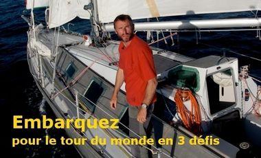 Visueel van project Embarquez pour le tour du monde en 3 défis