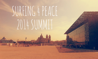 Visuel du projet Surfing 4 Peace 2014 Summit