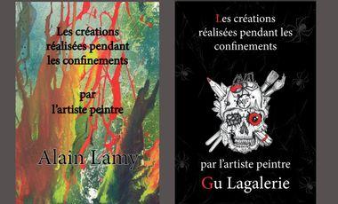 """Visuel du projet Le Livre """"déconfiné"""" de GU & LAMY et LAMY & GU"""