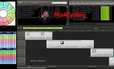 Project visual Mix4Cycling - le nouveau logiciel de mixage pour instructeurs Fitness