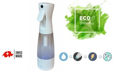 Project visual Bi'eau Spray, le spray qui veut sauver la planète