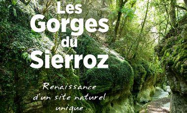 Project visual Livre Les Gorges du Sierroz, nouvelle édition 2021