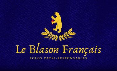Visuel du projet Le Blason Français, les polos patri-responsables !