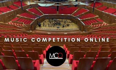 Visueel van project Music Competition Online