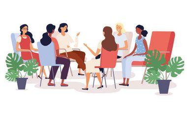 Project visual Prise en charge psychologique des femmes victimes de violences