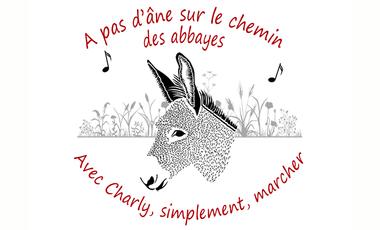 Visuel du projet A pas d'âne, sur le chemin des abbayes.