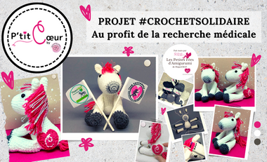 """Project visual """"P'tit Cœur"""" au profit de la recherche médicale"""