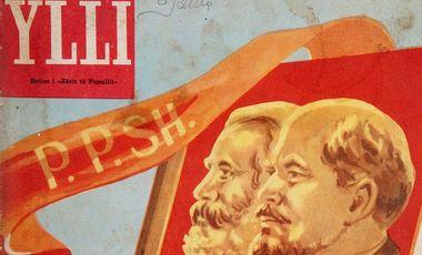 Visueel van project YLLI, les couleurs de la dictature