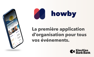 Visueel van project Howby, l'application pour tout organiser