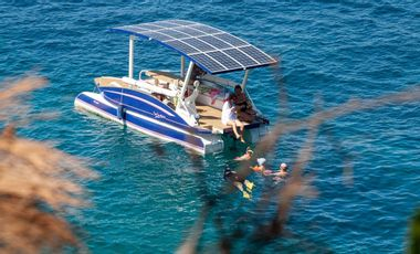 Project visual Octopus, le bateau solaire qui respecte la mer et ses habitants