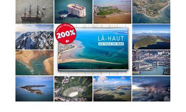 Visueel van project Les Vols de Max - Livre Photographique «Là-Haut»