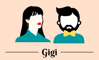 Project visual Gigi friperie vintage