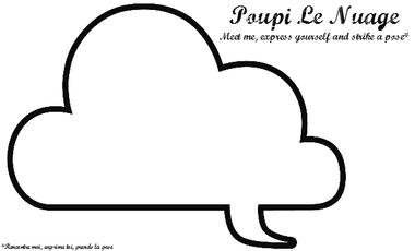 Project visual Poupi Le Nuage