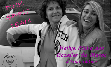 Visuel du projet Rallye Aïcha des Gazelles des Pink Spirit