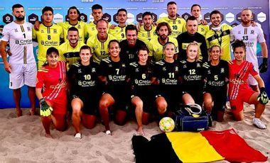 Visuel du projet L'ambition du Beach Soccer avec l'ASBL Newteam