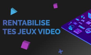 Visuel du projet Over&Over : rentabilise tes jeux vidéo !
