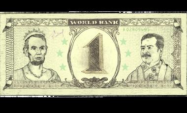Project visual La vie d'un billet de banque