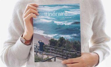 Project visual Itinéraire Magazine