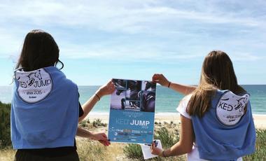 Project visual Concours FFE club CSO Ked'jump plage de Mimizan