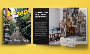 Visueel van project Zigzag le Mag n°2 !