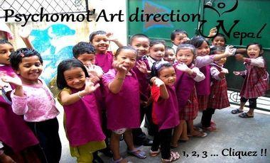 Visuel du projet Psychomot'art direction Népal