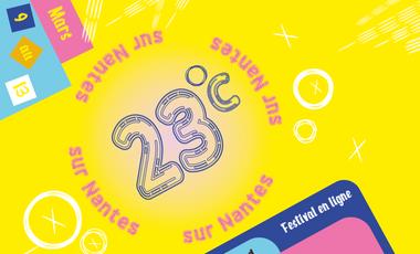 Visuel du projet 23˚C sur Nantes – Festival en ligne