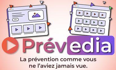 Project visual PREVEDIA - Plateforme de vidéos en prévention des risques professionnels