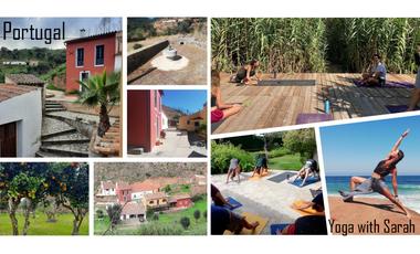 Project visual Yoga with Sarah au Portugal