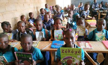 Visuel du projet Une bibliothèque pour les enfants de Sondogo à Ouagadougou
