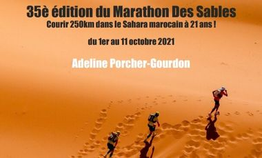 Project visual Le Marathon des Sables à 21 ans !