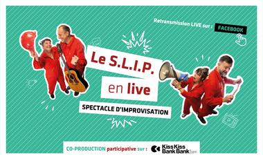 Visuel du projet Spectacle d'improvisation: Le S.L.I.P. en live