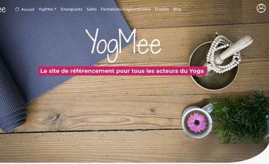Visuel du projet YogMee : créateur de liens pour les passionnés de yoga