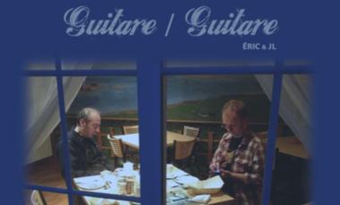 Visueel van project Lancement album GUITARE/GUITARE