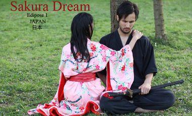 Visueel van project  Sakura Dream Episode 1 (live performance and short film)