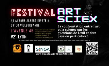 Visuel du projet ARTSCIEX - Festival annuel