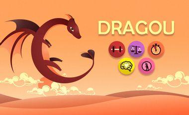 """Visuel du projet L'application mobile """"Dragou"""""""