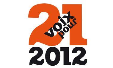 Project visual 21 voix pour 2012
