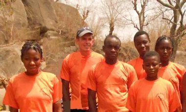 Project visual Escalade au Burkina Faso.