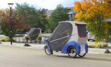 Visueel van project L'Urbaner, la mobilité douce de demain