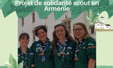 Visuel du projet Projet de solidarité scout en Arménie
