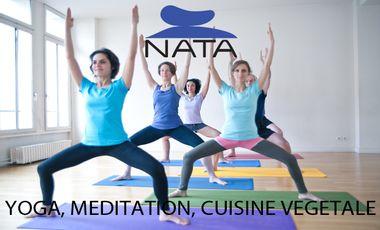 Visueel van project NATA : yoga, méditation et cuisine végétale