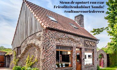 "Visuel du projet Opstart vzw ""Frivoliteitenkabinet Nanda"""