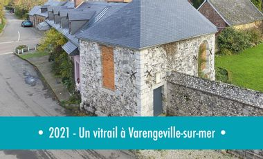 Visueel van project 2021-Un vitrail à Varengeville-sur-mer